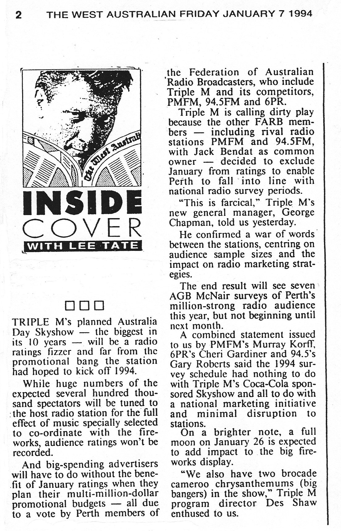 1994.01.07 - Article - Skyshow will be a fizzer - The West Australian.jpeg