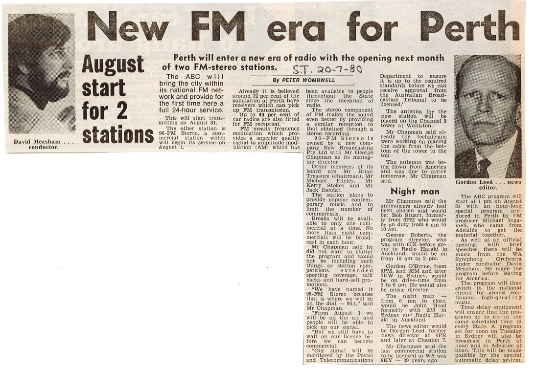 1980.07.20 - Article - New FM Era for Perth - The Sunday Times.png