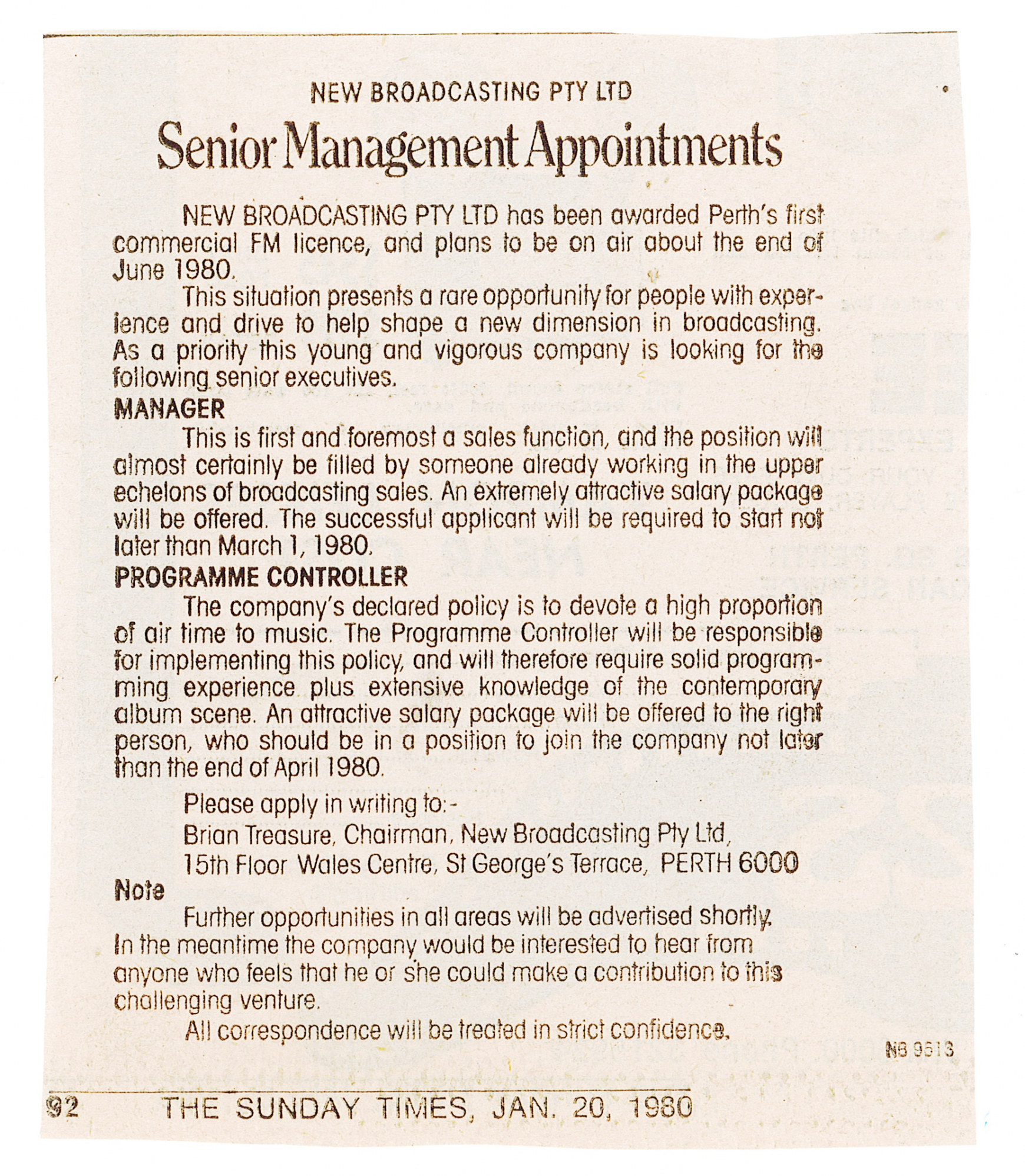1980.01.20 - Advert - Senior Management Appointments - The Sunday Times.png